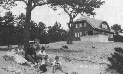 Ferienhaushaus von Thomas Mann in Nidden